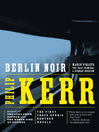 Berlin Noir (eBook)